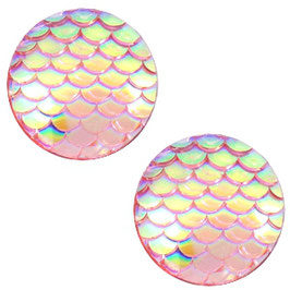 Mermaid vintage Pink Holographic