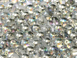 Crystal Silver Rainbow 8 mm
