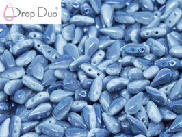 Drop Duo Chalk white BLue Flar full