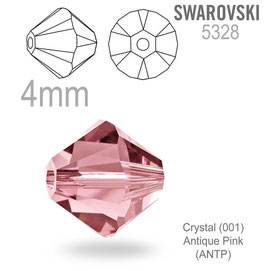 5328 Xilion Crystal Antique Pink
