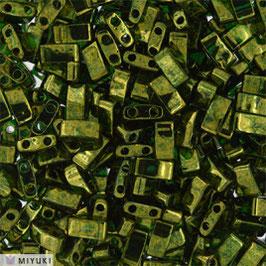 Olive Green Gold Luster 306