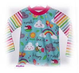 Shirt Happy mint/bunt