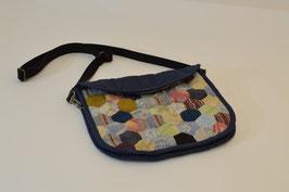手縫いパッチワークショルダーバッグ