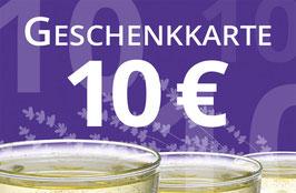 GUTSCHEIN 10€
