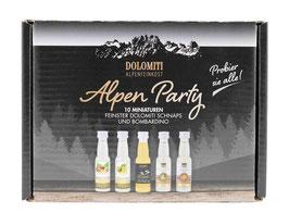 ALPEN PARTY BOX  - 10 Miniaturen