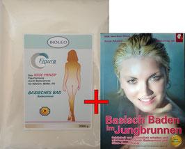 Angebot: Bioleo Figura + Basisch Baden im Jungbrunnen Buch *