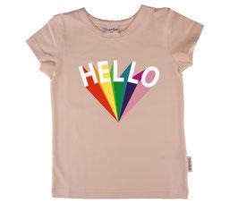 """NEU: T-shirt """"Hello"""" in Rosa von Baba"""