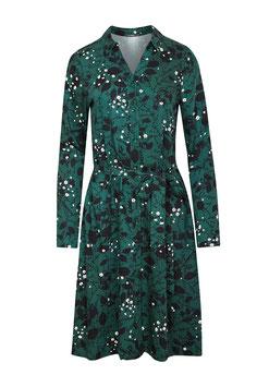 SALE: Damenkleid mit Blumenranken von Greenbomb