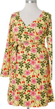 NEU: Wickelkleid für Damen mit Heckenrosen von DUNS