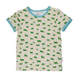 NEU: T-shirt mit Grashüpfer von Baba