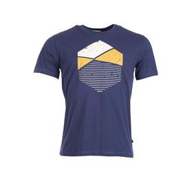 NEU: T-shirt Blau geometrisch von Munoman