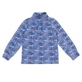 SALE: Langarm-Shirt in Blau mit Wölfen von Lily Balou