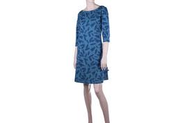 SALE: Damenkleid mit Federmuster von Froy & Dind