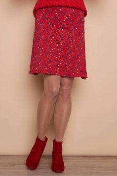SALE: Jupe mit Rhomben auf Rot von Tranquillo