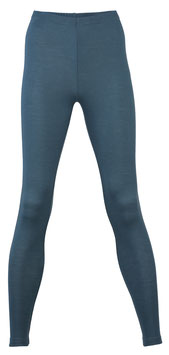NEU: Wolle/Seide Leggings für Damen in Atlantik von Engel Naturtextilien