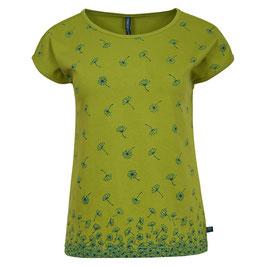 NEU: Shirt in Grün mit Pusteblumen von Tranquillo