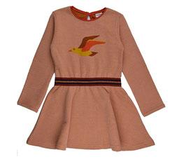 SALE: Jacquard-Kleid mit Vogel von Baba
