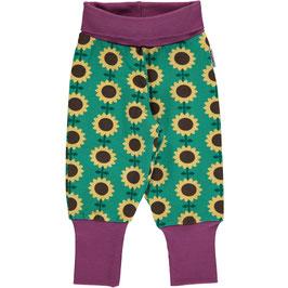 SALE: Baby-Hose mit Sonnenblumen von Maxomorra