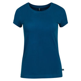 Basic T-Shirt in Petrolblau von Tranquillo