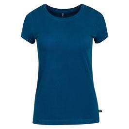 NEU: Basic T-Shirt in Petrolblau von Tranquillo