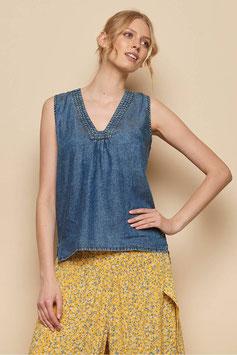 SALE: Shirt in denim von Tranquillo