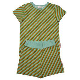 SALE: Sommer-Pyjama 2-teiler diagonal gestreift von Baba