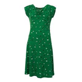 SALE: Damenkleid mit Sprenkel auf Grün von Froy&Dind