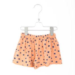 SALE: Crêpe-Shorts lachsfarbig mit Blumen von Lötiekids