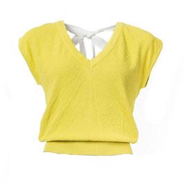 SALE: Shirt gestrickt in hellgelb von Froy&Dind