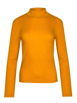 NEU: Damenshirt in Goldgelb mit Stehkragen von Greenbomb