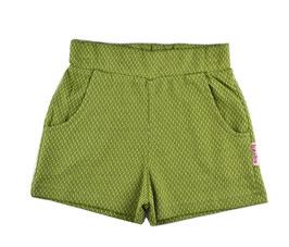 SALE: Shorts zart gemustert in Kaki von Baba