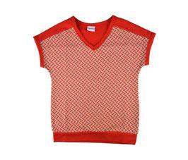 NEU: T-shirt mit Ziegelmuster Rot von Baba (bis Grösse 164 erhältlich)