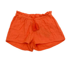SALE: Short in Orange aus Musselin von Lily Balou