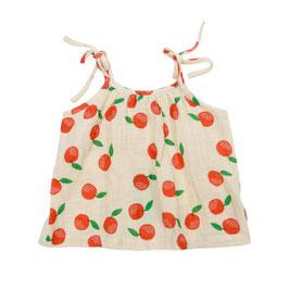 NEU: Trägerhemd mit Clementinen aus Musselin von Lily Balou
