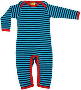 SALE: Pyjama blau gestreift DUNS