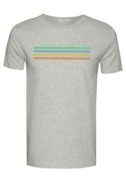 NEU: T-shirt Cyclist auf Grau von Greenbomb