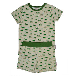 NEU: Sommer-Pyjama 2-teiler mit Grashüpfer
