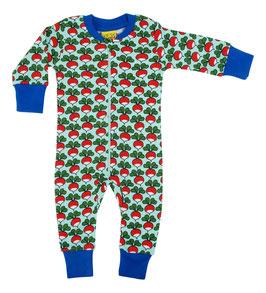 NEU: Einteiler-Pyjama mit Radieschen von DUNS