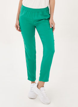 NEU: Knöchellange Hose in Smaragdgrün von Organication