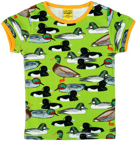 NEU: T-shirt Enten auf Grün von DUNS