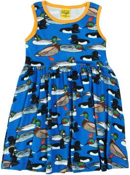 SALE: Sommer-Kleid mit Enten auf Blau von DUNS