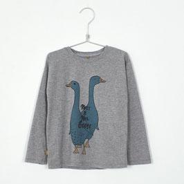 NEU: Shirt mit Gans auf Grau von Lötiekids