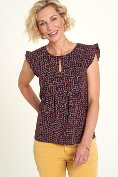 SALE: Sommer-Bluse mit Herzblatt von Tranquillo