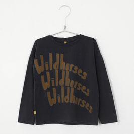 NEU: Shirt Wildhorses auf Vintage Black von Lötiekids