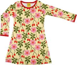 A-Linie-Kleid mit Heckenrosen bis Grösse 152 von DUNS