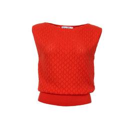 NEU: Shirt gestrickt in Poppy Red von Froy&Dind