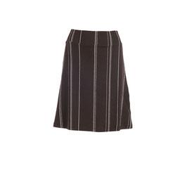 Damenjupe schwarz mit Längsstreifen von Froy&Dind
