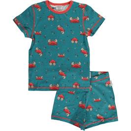 SALE: Sommer-Pyjama 2-teiler mit Krebsen von Maxomorra