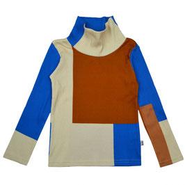 NEU: Langarmshirt mit hohem Kragen Colorblock von Baba