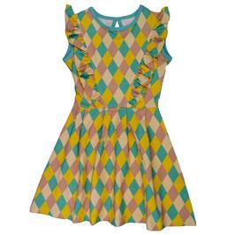 NEU: Rüschen-Kleid mit Rhomben von Baba